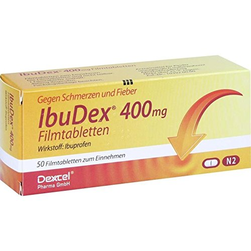 IbuDex 400 mg Filmtabletten, 50 St. Tabletten