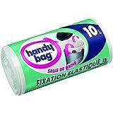 Handy Bag - 3557880353520 - Salle de Bains Fixation Elastique - 10 L - 40 x 40 cm - x 15 sacs - Lot de 2