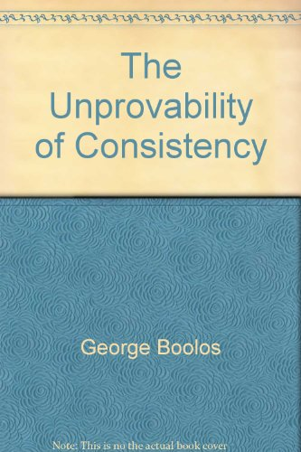 Title: The Unprovability of Consistency An Essay in Modal