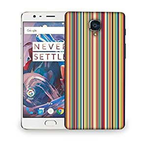 Snoogg Super Lining pattern 2538 Designer Protective Back Case Cover For OnePlus Three