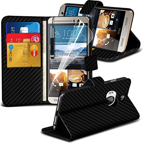 i-tronixs-black-carbon-fiber-wallet-b-htc-one-m9-htc-one-m9-plus-etui-housse-b-case-premium-quality-