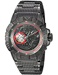 Invicta Men's 'Pro Diver' Automatic Stainless Steel Casual Watch, Color:Black (Model: 25419)