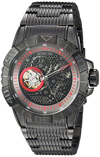 Invicta 25419 - Reloj de pulsera hombre, acero inoxidable, color Negro