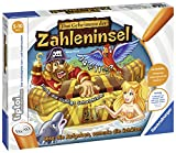 Ravensburger tiptoi Das Geheimnis der Zahleninsel Spiel, ab 5 Jahren, Spielerisch erstes Kopfrechnen und das kleine Einmaleins üben