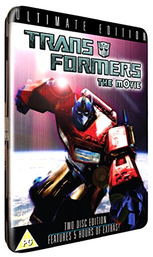 Transformers The Movie - The Ultimate Edition (2 discs) [1986] Limited Edition Tin Box (Transformers Dvd Box Set)