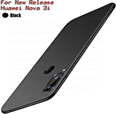 Annure Back Cover Case for Huawei Nova 3i (Black Matte)
