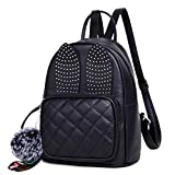 Redlicchi Girls Rabbit Ear Fashion Backpack Cute Mini Leather Backpack Purse for Women
