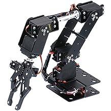 KESOTO DIY Robot 6-DOF Robótico Arduino Brazo Hidráulico