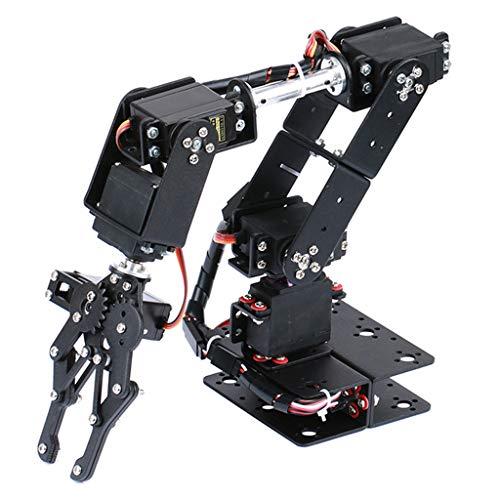 D DOLITY DIY Roboterarm 6-dof Roboter Griff Mechanischer Arm Für Arduino Lern Kit