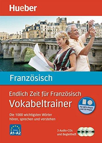 Endlich Zeit für Französisch - Vokabeltrainer: Die 1.000 wichtigsten Wörter hören, sprechen und verstehen / Paket (Endlich Zeit für Vokabeltrainer)