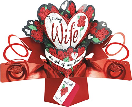 Second-Nature-Hearts-and-Flowers-Design-My-Darling-Wife-Valentines-Day-Pop-Up-Card