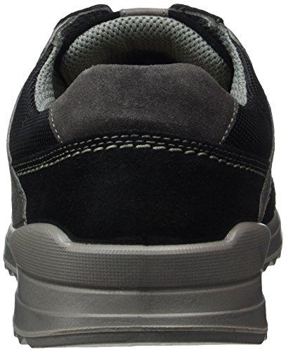 Jomos - Elan, Pantofole Uomo Mehrfarbig (Schwarz/Silver)