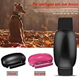 Lifesongs GPS Tracker für Haustiere Wasserdicht Smart Cat Hund GPS Tracker-Real Time Wasserdicht Haustier Halsband Tracker