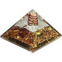 Tiger Eye Orgonit Pyramid/Reiki Crytsal Pyramiden zur Heilung und Chakra Home Dekoration 65mm mit Tasche preisvergleich bei billige-tabletten.eu