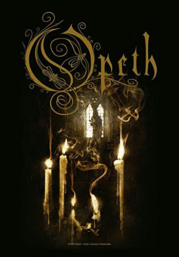 Heart Rock Licensed Bandiera Opeth - Ghost Reveries, Tessuto, Multicolore, 110X75X0,1 cm
