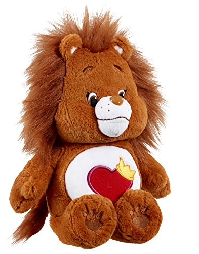 "Image of Care Bears 14665 ""Brave Heart Lion"" Plush Toy With DVD (Medium)"