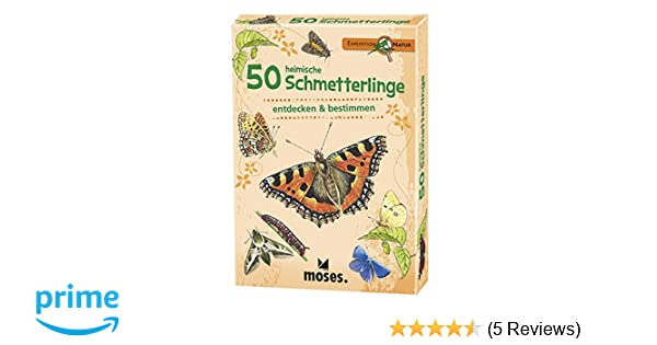 Moses Expedition Natur 50 Heimische Schmetterlinge