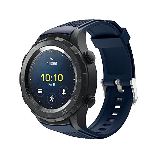Gosuper Newest Soft Silicone Sport Replacement Strap for Garmin Fenix5