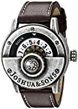 Joshua & Sons Herren-Armbanduhr Man Analog Quarz JX116SSBR