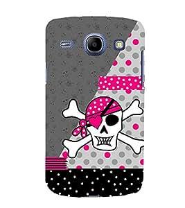 PrintVisa Beautiful Pirate Pattern 3D Hard Polycarbonate Designer Back Case Cover for Samsung Galaxy Core I8260 :: Samsung Galaxy Core I8262 Duos