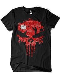 1536-Camiseta Premium, Punisher - Stand And Bleed