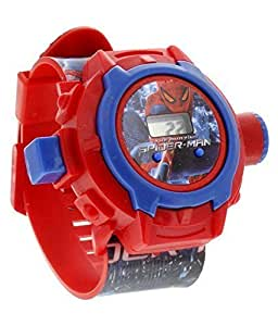 S S TRADERS™ Red Digital 24 Projector Kids watch - unique 24 images - Good Gift for kids