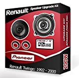 Pioneer Avant Renault Twingo Dash Haut-parleurs 10,2cm 10cm Haut-Parleur de...