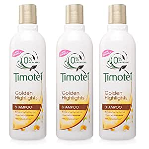 Timotei Golden Highlights Shampoo 250ml by Timotei (3 x PACK)