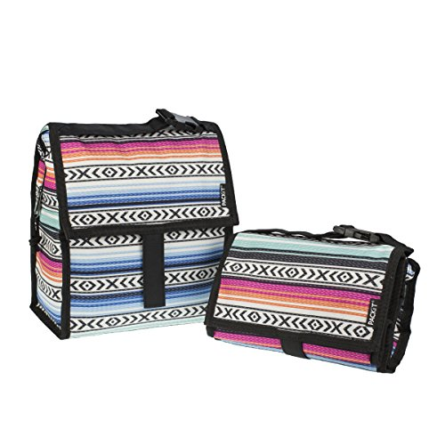 Packit Borsa Termica, Multicolore (Surf Stripe) Multicolore (Fiesta)