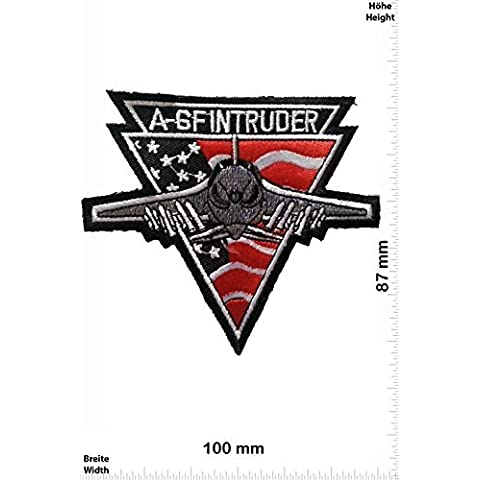 A 6f Intruder Military U.s. Army Air Force Tactical Vest Logo Jacket T- Shirt Patch (Intruder Patch)