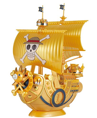 Bandai Hobby Grand Ship Collection Thousand-Sunny commémorative de Couleur Ver. One Piece Film Doré kit de Construction