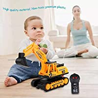 iBàste Remote Control Excavator Toy Truck, 2 Channel RC Construction Tractor Simulated 2.4GHz Engineering Vehicles Truck adaptable