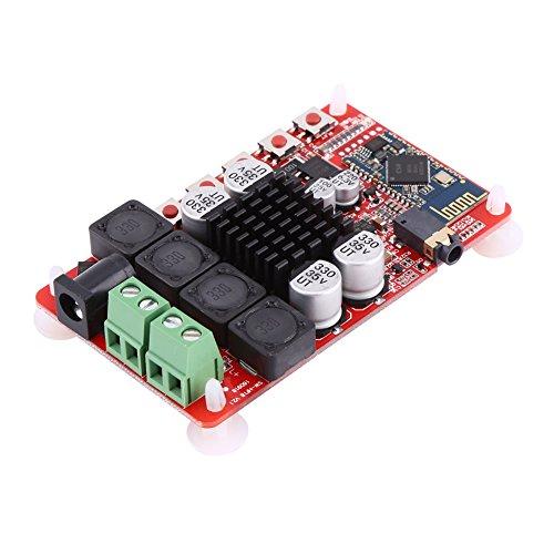 TDA7492 50w x2 Digital Dual Channel Verstärker Modul Stereo AMP Board mit CSR8635 Bluetooth V4.0 Reveiver und Mikrofon