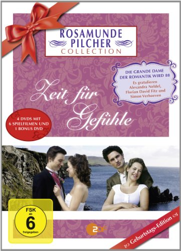 Bild von Rosamunde Pilcher Collection XIII - Zeit für Gefühle (Geburtstags-Edition, 4 Discs)