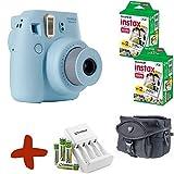 Fuji Instax Mini 8 Blau Sofortfilmkamera