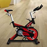 ECO-DE Spinning-Fahrrad Panther, mit Pulsmesser, LCD-Display, regulierbar
