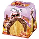 Bauli il Panettone mit Cointreau Cremefüllung, italienischer Hefekuchen für Weihnachten, Weihnachtskuchen, Gebäck, 800g