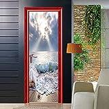 LXHLXN Dekorative Türaufkleberperspektive der neuen Spray kreativen Hauptart und Weise dekorative Aufkleber