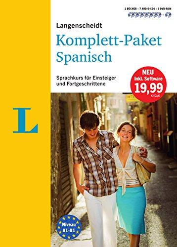Langenscheidt Komplett-Paket Spanisch - Sprachkurs mit 2 Büchern, 7 Audio-CDs, 1 DVD-ROM,...