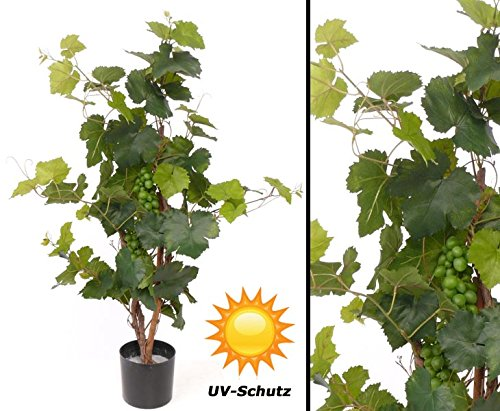 künstlicher Rebstock, UV safe, 79 Blätter, Höhe 90cm – Kunstpflanze