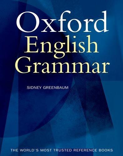 The Oxford English Grammar por Sidney Greenbaum
