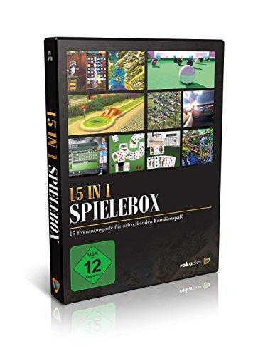 15 in 1 Premium Spielebox