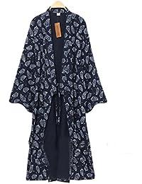 yukata des hommes Robes Kimono Robe Khan Steamed Vêtements Pyjamas
