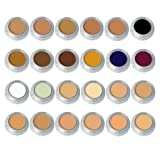 Camouflage Make-up-Palette CK mit 24 Farben