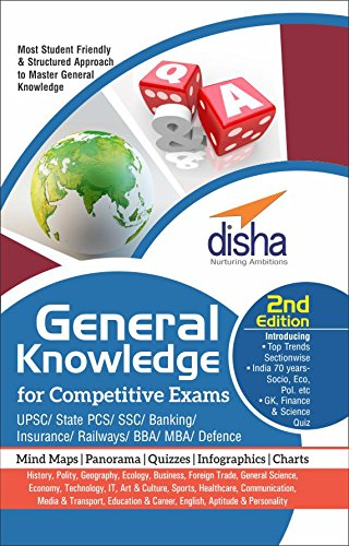 General Knowledge for Competitive Exams – UPSC/ State PCS/ SSC/ Banking/ Insurance/ Railways/ BBA/ MBA/ Defence – 2nd Edition