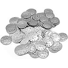The Turkish Emporium - 100 Monedas de cobre danza del Vientre, Plata