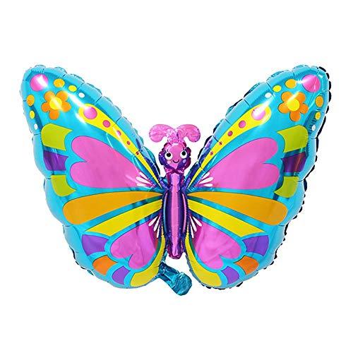 Da.Wa Geburtstag Party Dekoration Luftballons Insektenserie Ballon Spielzeug für Kinder Schmetterling B