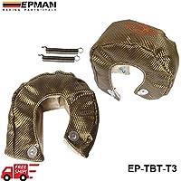 valoxin (TM) autofab–-epman Racing Titanio T3turbo coperta calore Shield Barriera 1.800gradi Temperatura d' esercizio ep-tbt-t3