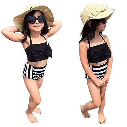 (Kinderkleid Honestyi Neugeborenes Kleinkind Baby Mädchen Boy Print Strampler Overall Kleidung Outfit Sunsuit Set (Weiß,70,80,90,100))