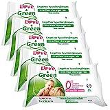 Love-Green-Lingettes-Hypoallergniques-Fleur-dOranger-Bio-64-Pices-Lot-de-5